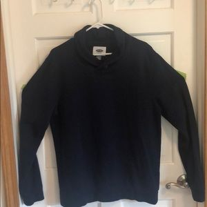 Old navy men's one button navy pullover
